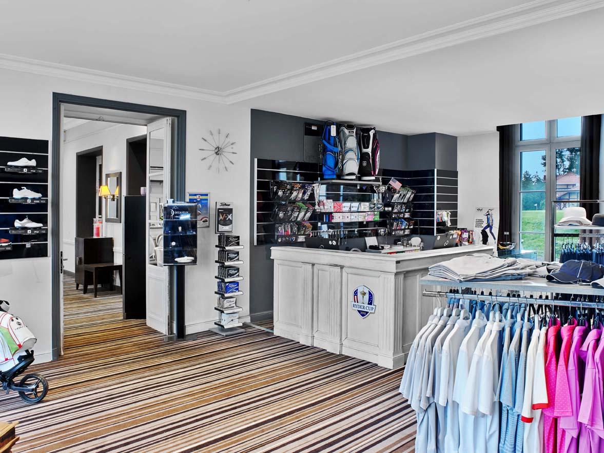 Accueil Golf et boutique