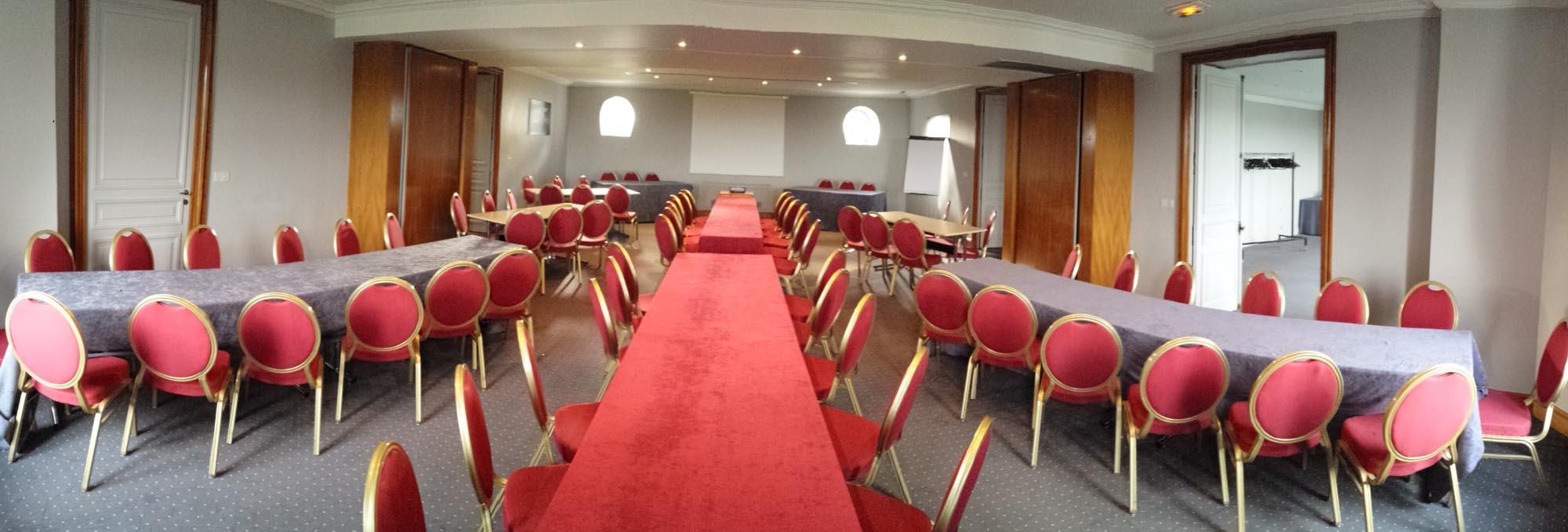 Domaine de Béthemont, salon de grande capacité pour les séminaires et conventions proche de Paris