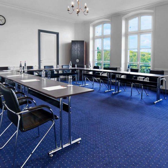 Une salle de séminaires, le salon Eagle, calme et confortable